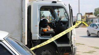 Kamyonet şoförü, aracında ölü bulundu