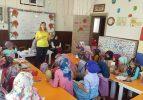 Yaz Kur'an kurslarında sağlık anlatıldı