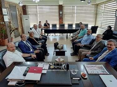 Başkan Sezen ve Yurdunuseven ilçelere çıkarma yaptı