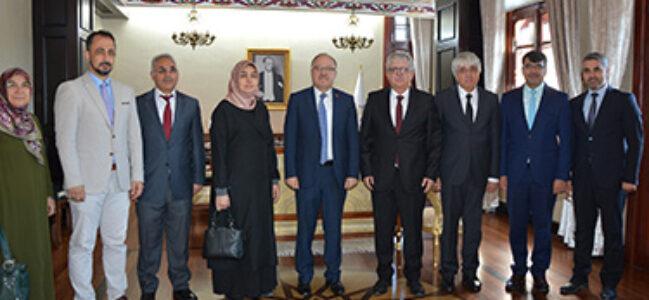 Vali Mustafa Tutulmaz Din Görevlilerini Makamında Kabul Etti