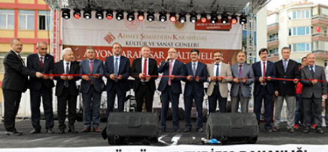 ALTINELLER EL SANATLARI FESTİVALİ BAŞLADI