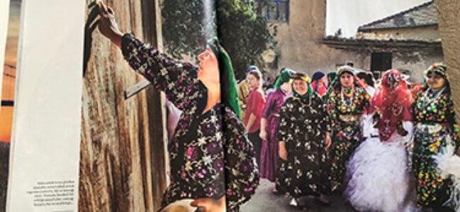 Çölovası'nın Yörük Düğünleri seyahat dergisinde