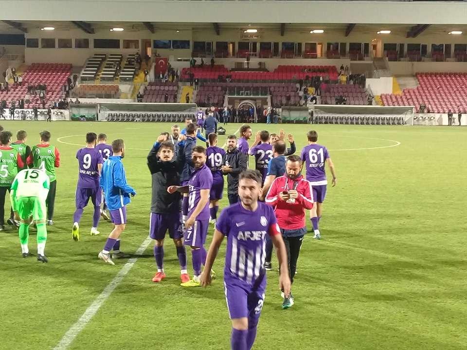 AFJET AFYON 2- 0 BAŞKENT AKADEMİ