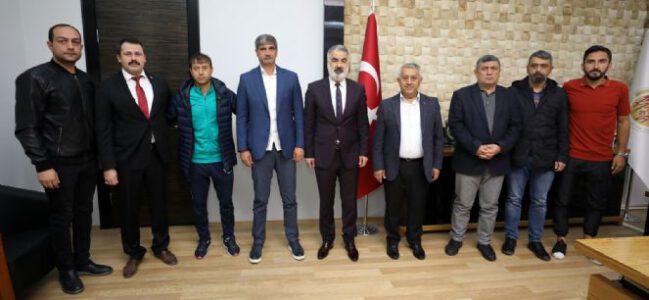 AFJET AFYONSPOR'DAN BAŞKAN ZEYBEK'E ZİYARET