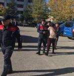 Jandarma Kaçak Avlandığı Tespit Edilen Şahsı Yakaladı