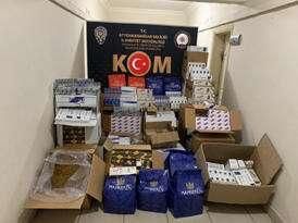 Afyon'da büyük kaçak sigara operasyonu