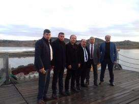 MHP'li Başkanlar Döğer'de buluştu