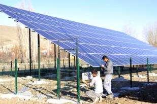 Afyonkarahisar da 4 köyün elektrik sorunu GES projesi ile çözüldü
