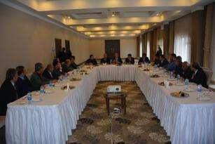Milletvekili Taytak'ın ilçe başkanları ile buluşması