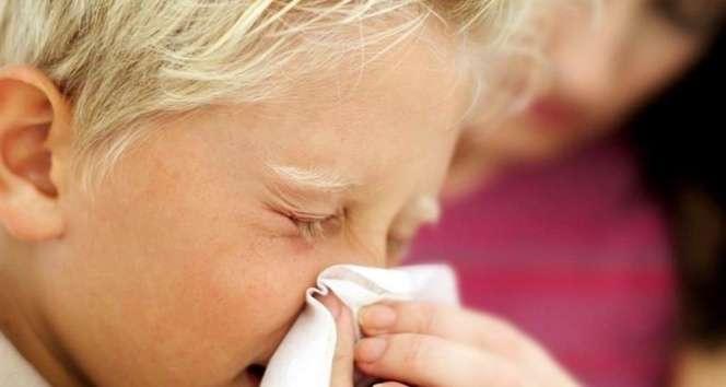 Çocuklarda nezle ve gribe dikkat
