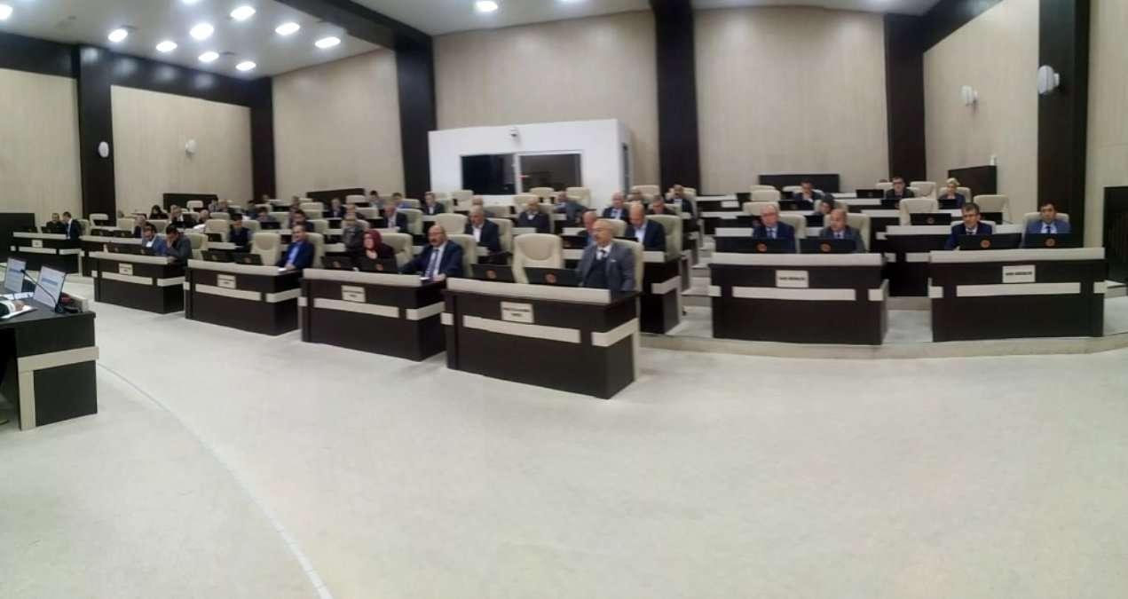 İl Genel Meclisi aralık ayı toplantıları başladı