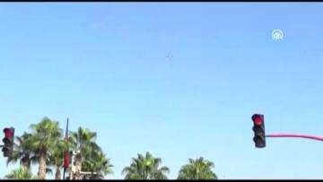 Trafikte kural ihlali yapan sürücüler drone ile belirlendi – ADANA