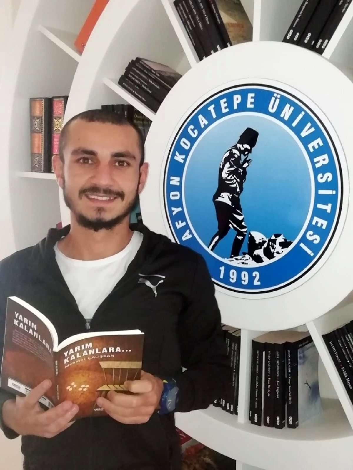 Üniversite öğrencisinin Yarım Kalanlara isimli kitabı yayınlandı