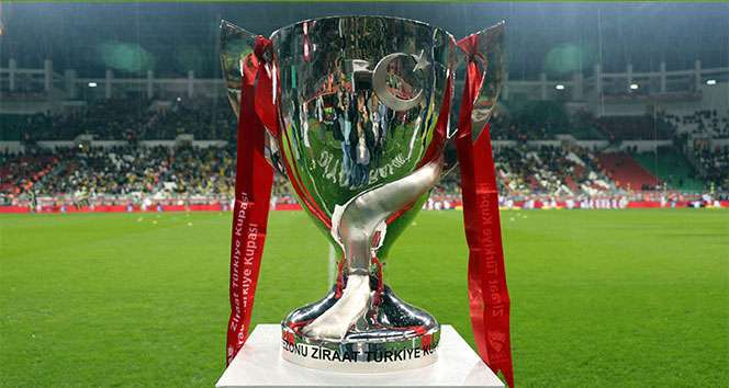 Ziraat Türkiye Kupası Son 16 Turu eşleşmeleri belli oldu
