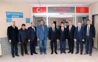 ATSO YÖNETİMİ, DEFTERDAR ŞAHİN'İ ZİYARET ETTİ