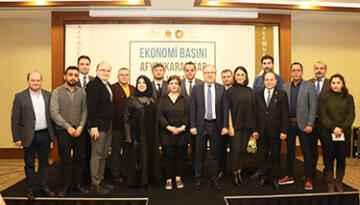 Ekonomi Basını Afyonkarahisar buluşması toplantısı yapıldı