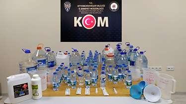 Yılbaşında kaçak alkol satıcıları operasyon