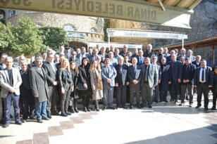 MHP teşkilatı Dinar'da toplandı