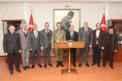 ATSO YÖNETİMİ, TUĞGENERAL ALP'İ ZİYARET ETTİ