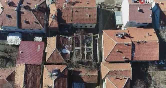 Depremin merkez üssü Sivrice havadan görüntülendi