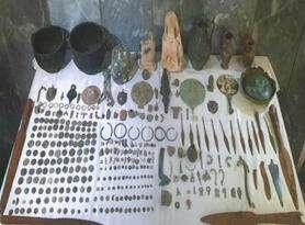 Sultandağı'nda tarihi eser kaçakçılığı