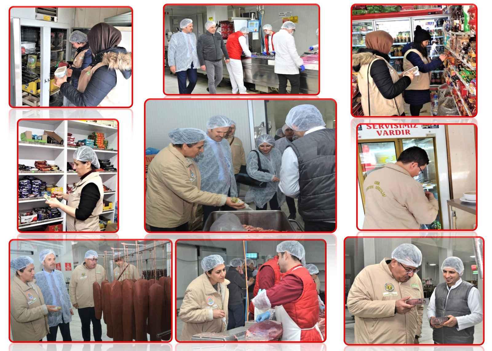Afyonkarahisar'da 6 günde bin 124 gıda denetimi gerçekleştirildi