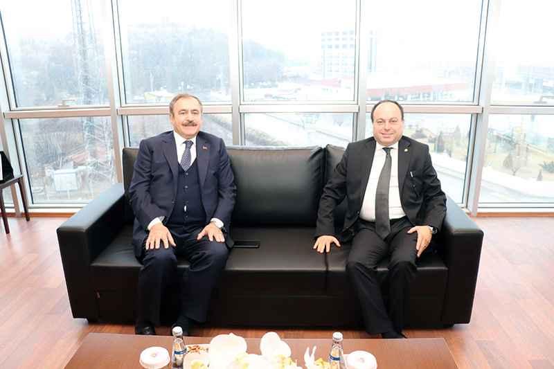 Eroğlu, Serteser'i ziyaret etti