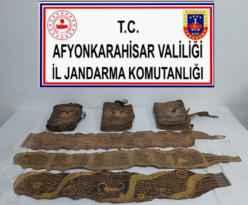 Tarihi eser satıcısı Afyon'da yakalandı