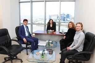 Salar Belediye Başkanı Taşpınar'dan Tokman'a ziyaret