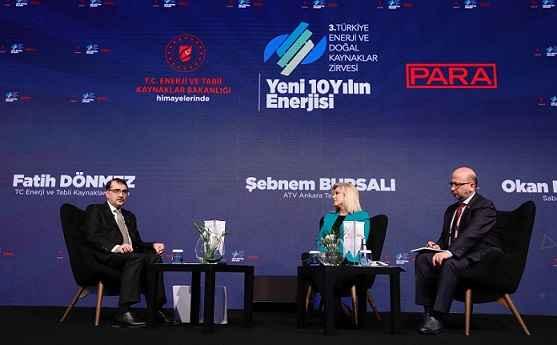 SERTESER, 3. TÜRKİYE ENERJİ VE DOĞAL KAYNAKLAR ZİRVESİ'NE KATILDI