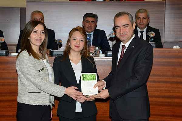 TOBB Afyonkarahisar Kadın Girişimciler Kurulu'na ödül
