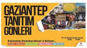 Gaziantep Tanıtım Günleri Afyon'da