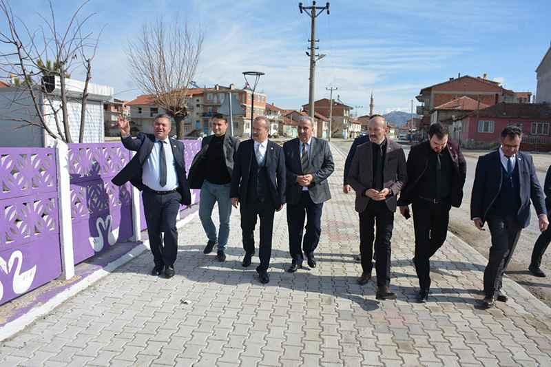 Taytak MHP'li Belediyeleri ziyaret etti