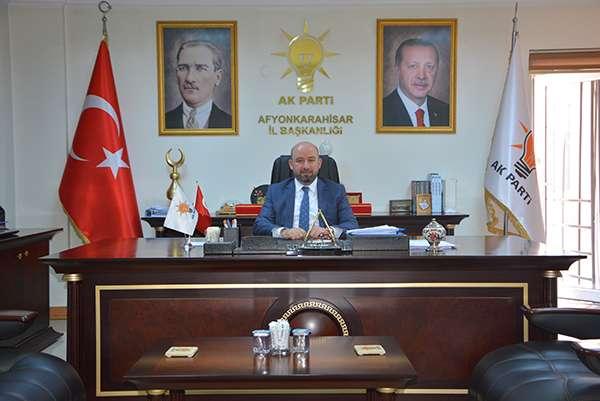 AK Parti İl Başkanı Sezen'den Ramazan ayı mesajı