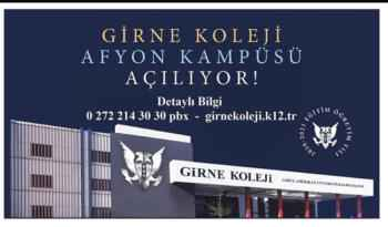 Girne Koleji Afyon Kampüsü 2020-2021 öğretim yılında faaliyete geçiyor