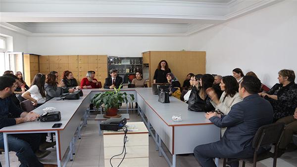 Değerler Eğitimi ve Tiyatro Sporu Projesi toplantısı gerçekleştirildi