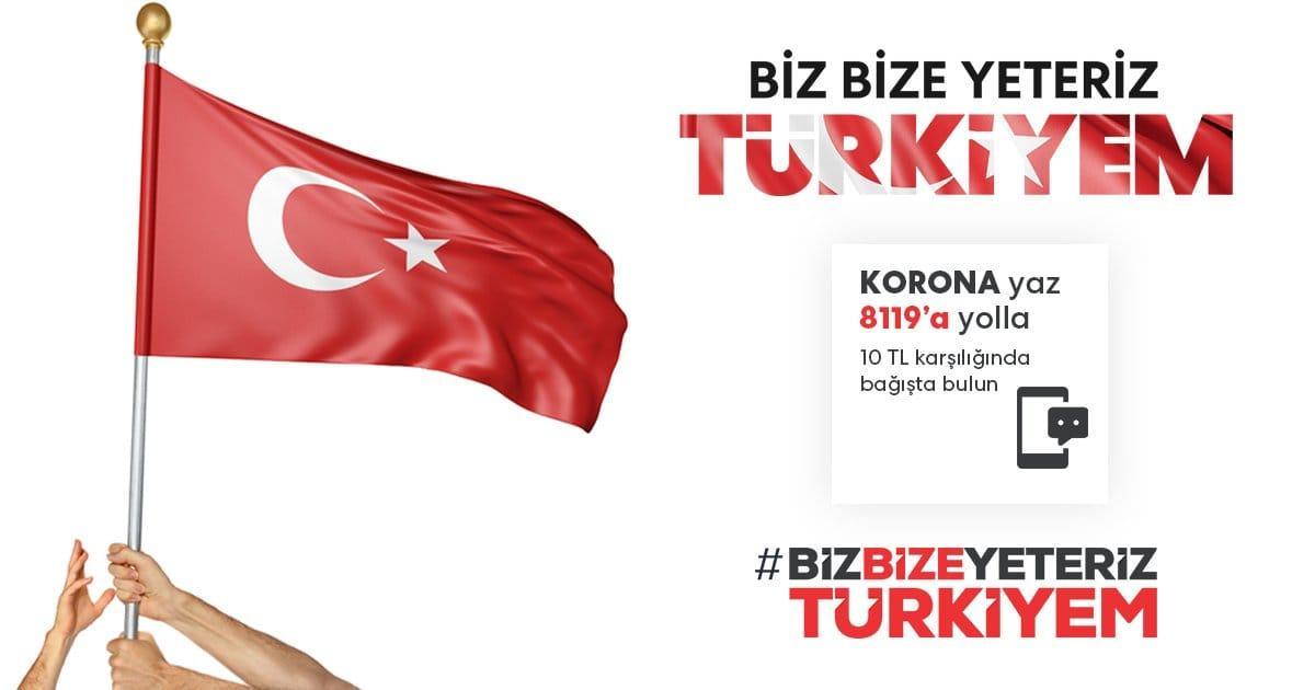 """Milli Dayanışma Kampanyası """"Biz Bize Yeteriz Türkiyem"""""""