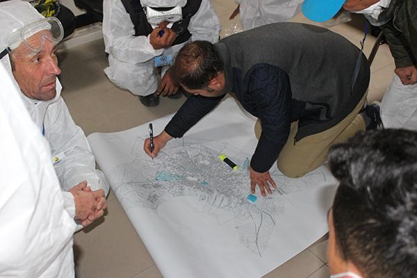 Emirdağ'da dezenfekte ekibi kuruldu