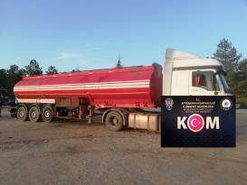 Afyon'da 25 bin litre kaçak akaryakıt ele geçirildi