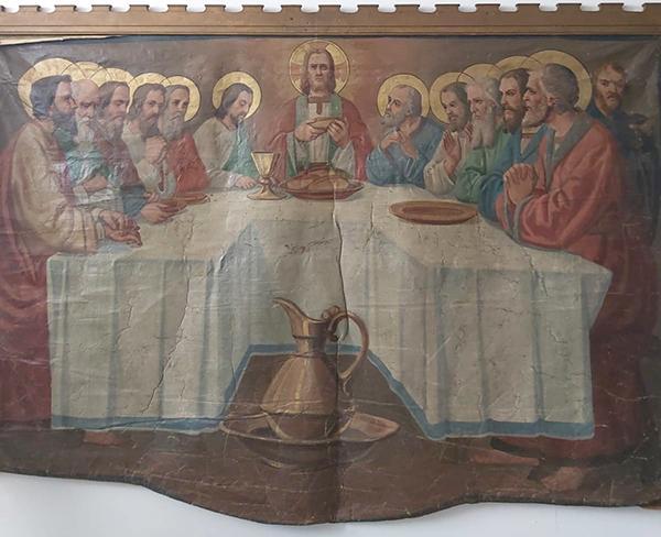 İsa'nın Son Yemeği adlı tablo ele geçirildi