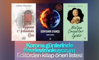 #evdeyimokuyorum kitap öneri listesi