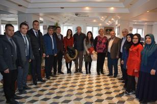 İscehisar Esnaf Odası BaşkanlığınaVergi Haftası Ziyareti