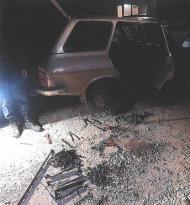 Dinar'da Hırsızlar Yakalandı
