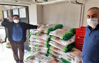 Afyon'da tohum dağıtımı yapıldı
