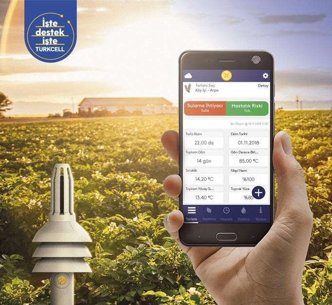 Turkcell, Filiz uygulaması ile çiftçinin yanında