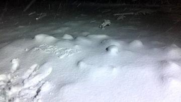 Haziran'a 3 gün kala kar yağdı