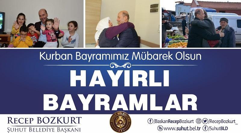 Başkan Bozkurt'tan bayram mesajı