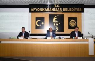 AFYON ÇEVRE HİZMETLERİ BİRLİĞİ MECLİS TOPLANTISI YAPILDI