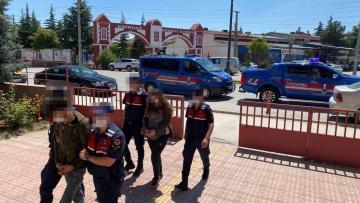 Trafo hırsızları suç üstü yakalandı