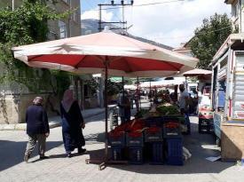 Çarşamba pazarı tekrar açıldı